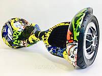 Элит Люкс Wheel 1000W Гироборд 10 Графити