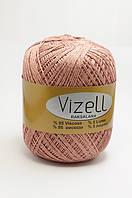 Турецкая пряжа для вязания Vizell Raksalana Lurex. Цвет 883