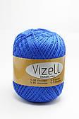 Vizell raksalana lurex (95% віскоза,5% люрекс, 490 м, літня/літо)