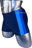 Купальные плавки мужские Xia Ai 13-159 синие , плавки мужские боксеры для бассейна
