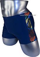 Мужские плавки боксеры для купания 13-162 синий