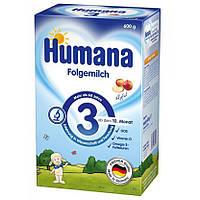 4826Humana Суха дитяча мол. суміш для подальшого годування Хумана 3 з пребіот. галактоолігосахарид. (ГОС) від