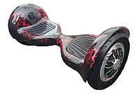 Подарок ребенку гироборд Elite Lux 10 Красная молния.