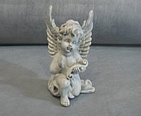 Ангелочек  с папирусом под камень