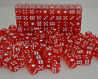 Кубики игральные, зары (15 мм.)
