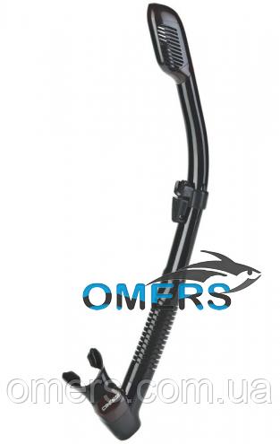 Трубка CRESSI Dry черная для подводной охоты