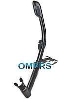 Трубка CRESSI Dry черная для подводной охоты, фото 1