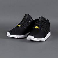 Кроссовки мужские Adidas ZX Flux Black (адидас)