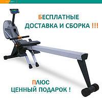 Гребной тренажер Sportop R700+ профессиональный аэро-электромагнитный складной