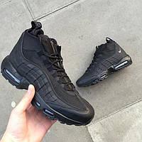 "Зимние кроссовки NIKE Air Max 95 Sneakerboot Winter ""Black"""
