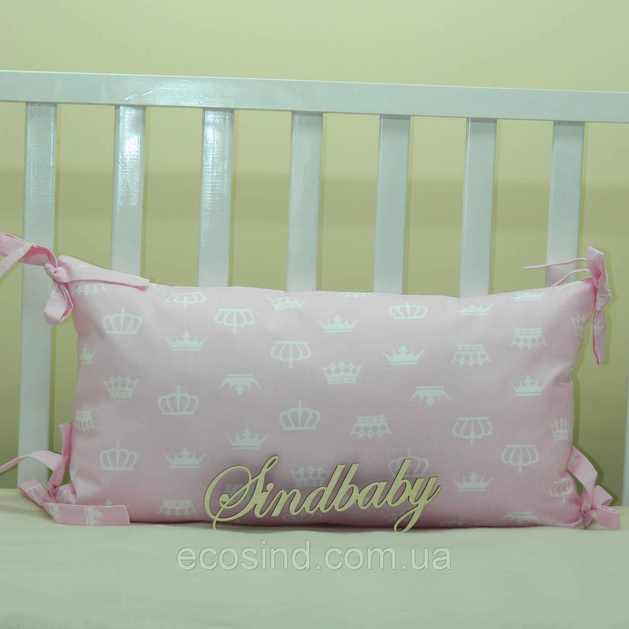 Бортики подушки в кроватку, Подушка 30х60 -27