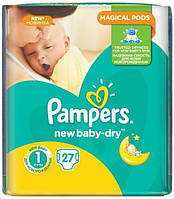 Подгузники Pampers New Baby 1 Newborn (2-5кг) 27шт