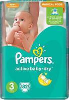 Подгузники Pampers Active Baby 3 Midi (4-9кг) 82шт Джамбо