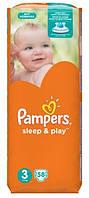 Подгузники Pampers Sleep&Play 3 Midi (4-9 кг) 58 шт.