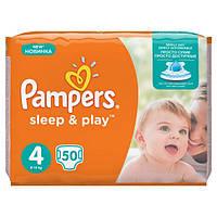 Подгузники Pampers Sleep&Play 4 Maxi (7-14 кг) 50 шт