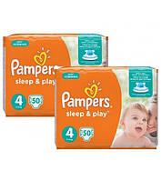 Подгузники Pampers Sleep&Play 4 Maxi (7-14 кг) 100 шт.