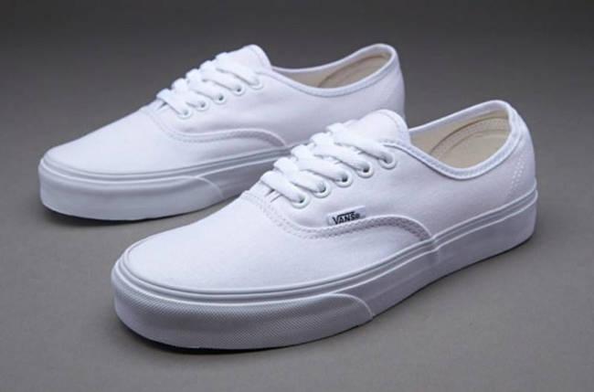 Кеды Vans AUTHENTIC True White, (унисекс), вансы, венсы, фото 2