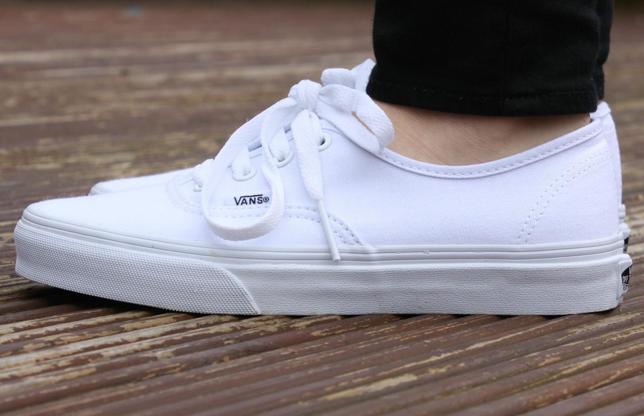 5a52713b275c Женские кеды Vans AUTHENTIC True White, вансы, венсы