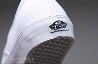 Кеды Vans AUTHENTIC True White, (унисекс), вансы, венсы, фото 3