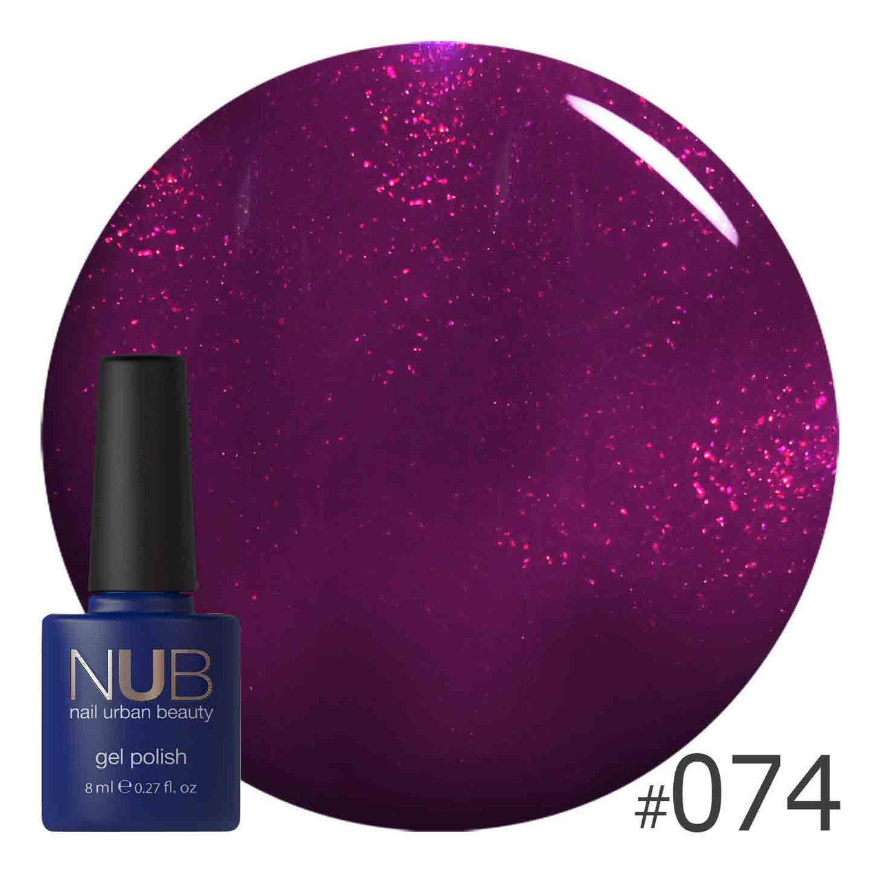 ГЕЛЬ-ЛАК NUB WHEN THE PARTY IS OVER 074