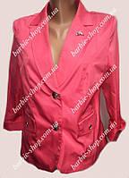 Яркий женский пиджак большого размера 40206