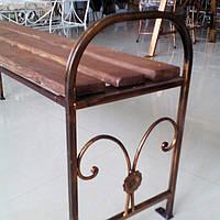Скамейка садовая без спинки боковинки 2 шт.