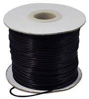 Шнур Вощеный Полиэстер, подходит для плетения браслетов, Цвет: Черный, Размер: Толщина 3мм, около 40м/катушка (УТ0003519)