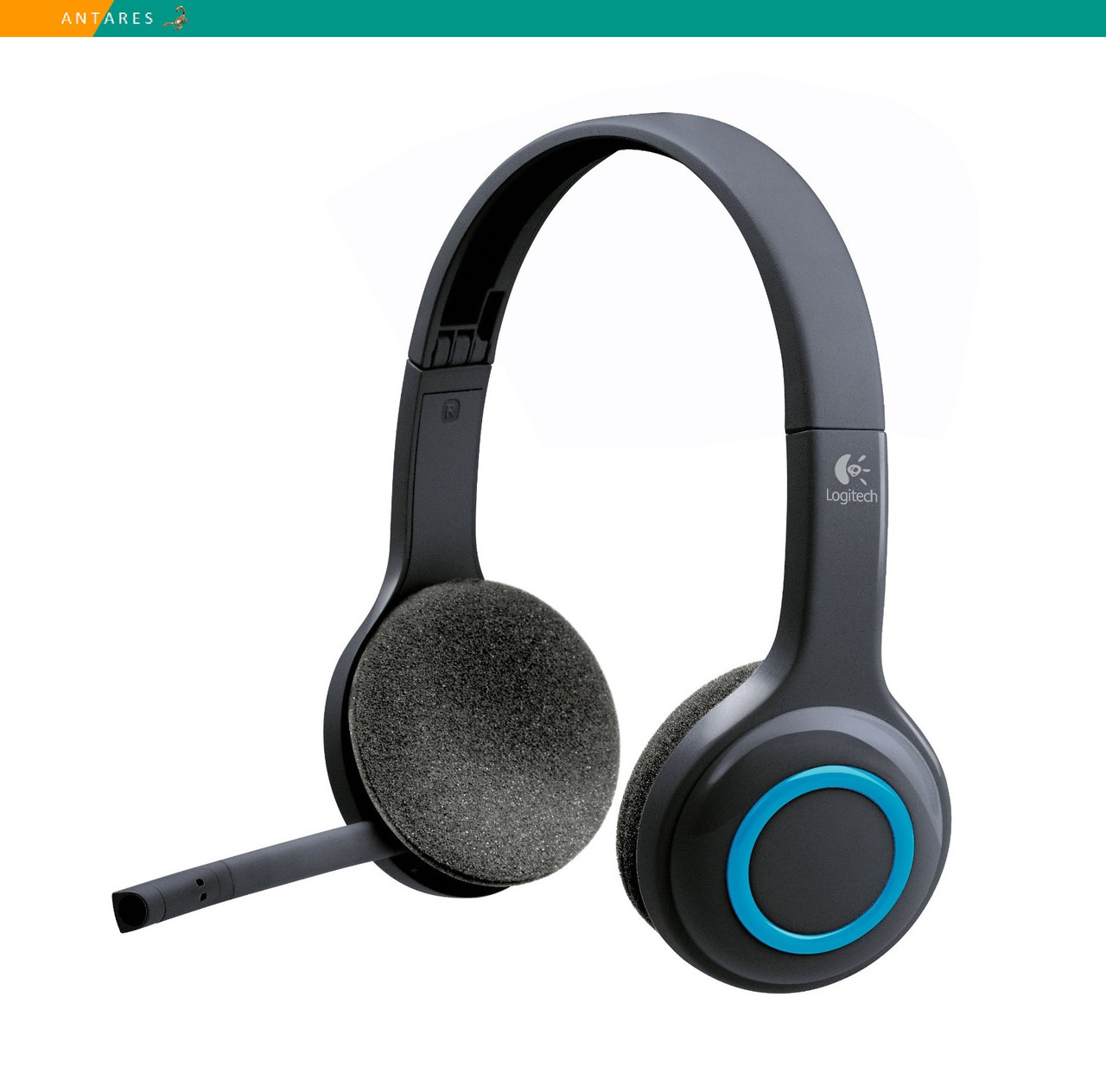Гарнитура Logitech H600 Wireless Headset беспроводная USB с микрофоном складная (без упаковки)