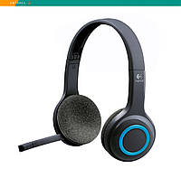 Гарнитура Logitech H600 Wireless Headset беспроводная USB с микрофоном складная (без упаковки), фото 1