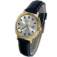 Slava 21 jewels made in USSR позолоченные часы -ソ腕時計