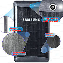 Планшет смартфон Samsung X7 таблет Android 5.1 GPS 2 sim навигация wi-fi 1024*600 IPS 8Gb 6ядер 3G sms 3000mAh, фото 2