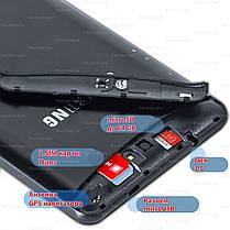 Планшет навигатор телефон Samsung X7 Android 5.1 GPS навигация wi-fi 1024*600 IPS 6 ядер 3G 2 sim sms 3000 mAh, фото 3
