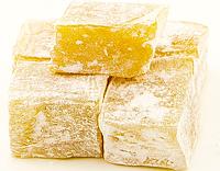 Рахат лукум лимонные кубики 0,6 кг