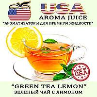Ароматизатор USA AROMA JUICE Зеленый чай с лимоном 10 мл
