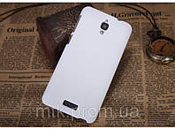 Чехол-бампер и плёнка NILLKIN для телефона Lenovo S660 белый