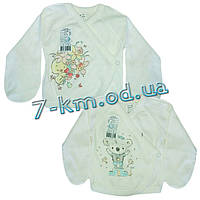Распашонка для младенцев LenLa1T05 ажур 2 шт (0-3 мес)