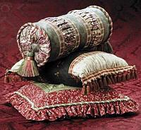 «Мелочи» интерьера: декоративная подушка