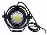 Прожектор светодиодный 7Вт 12В (с оптикой) плоский, фото 3