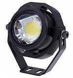 Прожектор светодиодный 7Вт 12В (с оптикой) плоский, фото 2