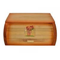 Хлебница деревянная малая Декор Смеречка