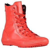 Ботинки/Сапоги (Оригинал) Converse All Star Hi-Rise Boots Red/Red/Red