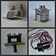 Низковольтная аппаратура (электромагниты, переключатели бвк, переключатели-тумблеры)