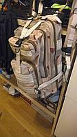 Рюкзак tactical backpack— коричнево-песочный камфляж.