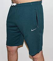 Мужские трикотажные шорты Nike зеленые 2