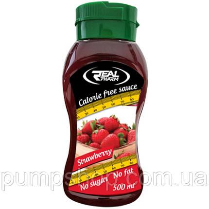Низкокалорийный сироп Real Pharm Calorie Free Sauce 500 мл, фото 2