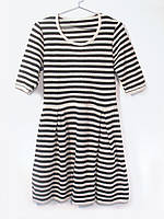 Плаття жіноче на літо Чорна смужка