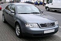 Лобовое стекло на Audi A6 с местом под зеркало (1997-2004)