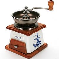 Кофемолка ручная с ящиком Корона 004