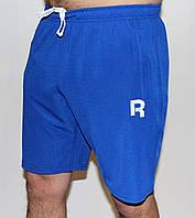 Мужские трикотажные шорты Reebok синие 4