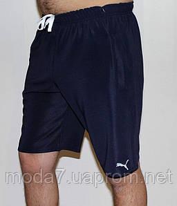Мужские трикотажные шорты Puma синие 5